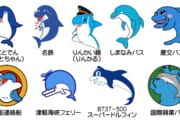 【画像】イルカのマスコットキャラの魅力wwwww