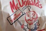 【画像】マクドナルドさん、袋が変わる