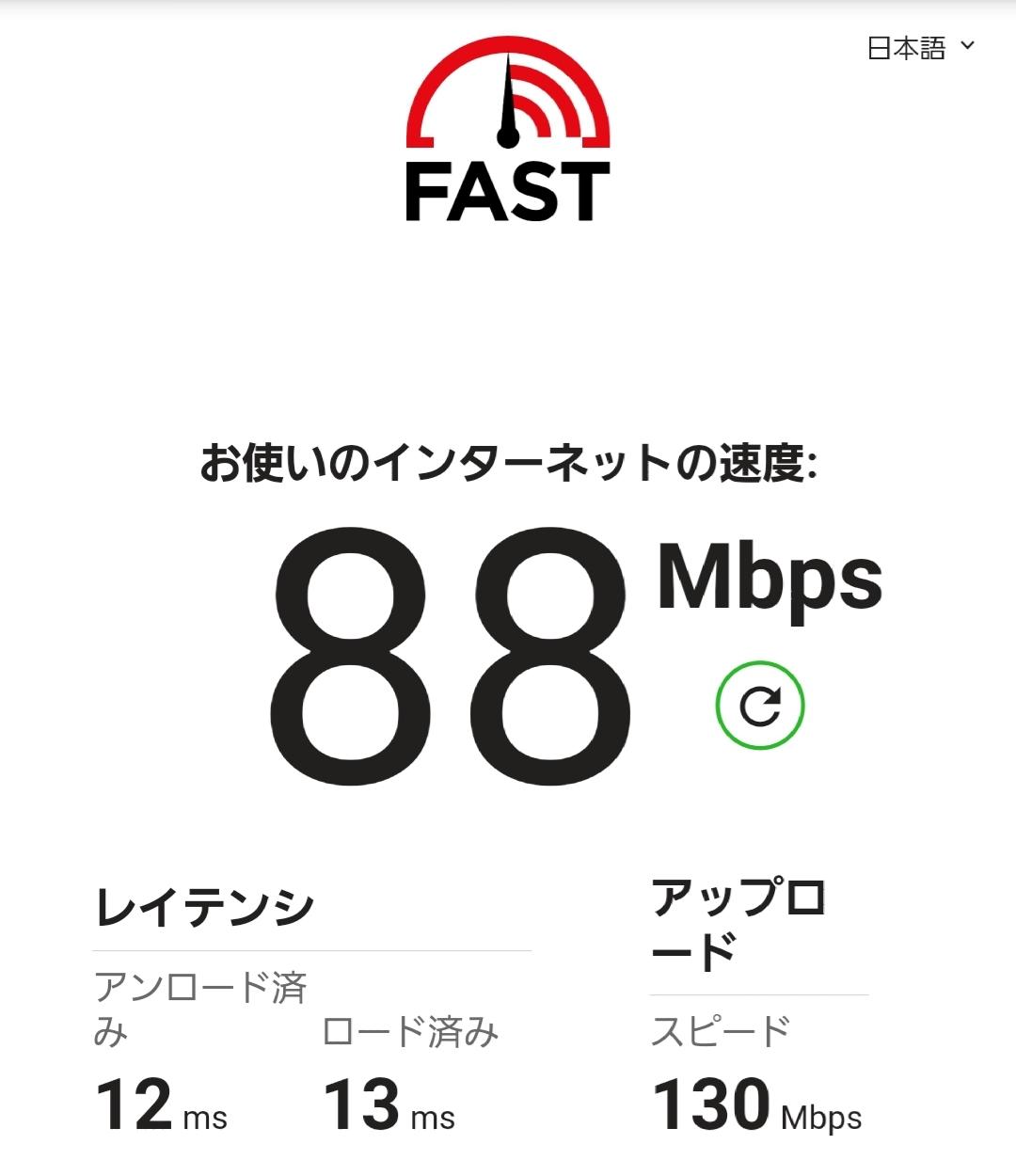 みんなのネットの回線速度、どれくらいのスピード???