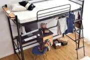 こういうベッド憧れるんだけど